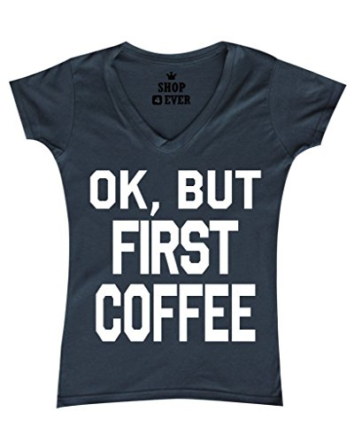 Shop4Ever Coffee Womens T shirt Sayings product image
