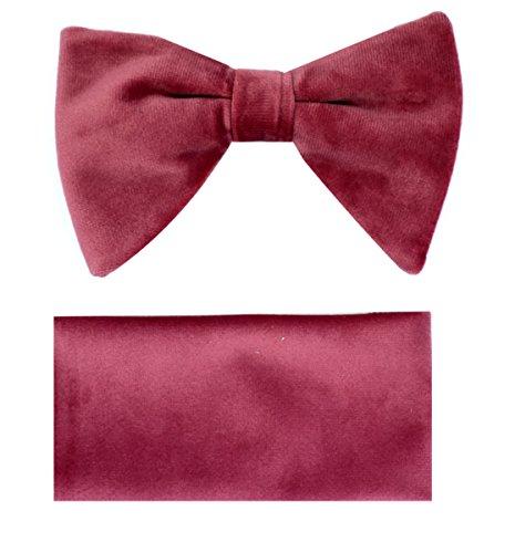 Velvet Bow Tie (Raspberry Bow)