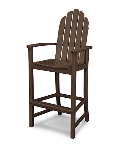 Trex Outdoor Furniture Cape Cod Adirondack Bar Chair in Vintage Lantern
