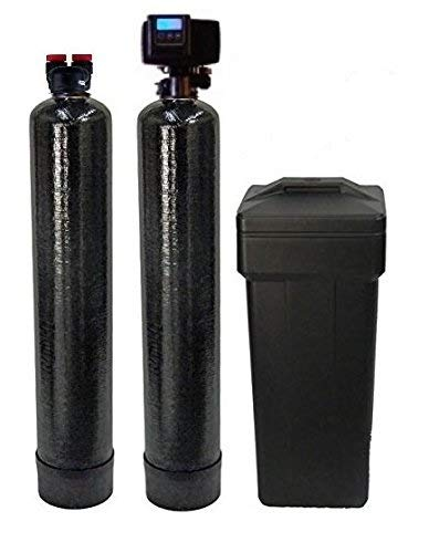 ABCwaters 5600sxt Fleck softener and carbon filter, Black