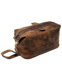 Leather Toiletry Bag for Men travel kit dopp utility kit Shaving Kit Gift For Men
