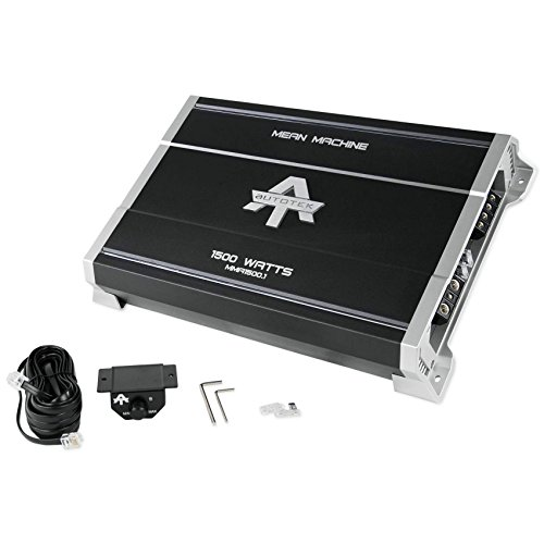 New Autotek MMA1500.1 1500 Watt Mono Amplifier Mean Machine Car Audio Amp (Machine Amp Mean)