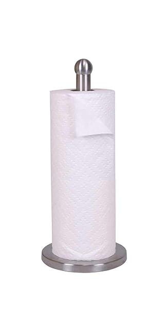 Amazon.com: Home Basics soporte toalla de papel de acero ...
