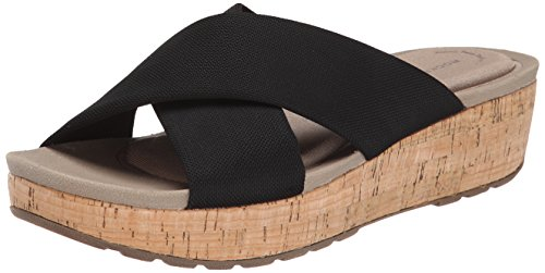 Rockport Land Stretch Slide Mujer Lona Sandalia