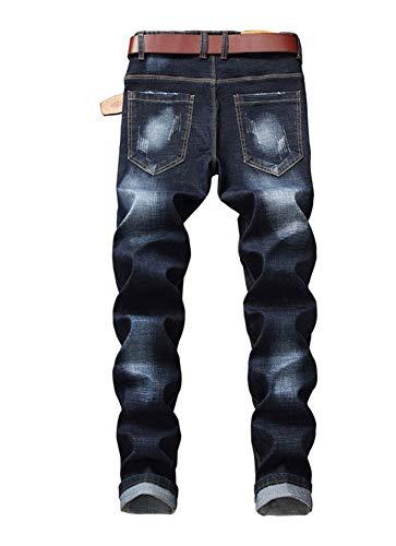 Della Di Elasticità Color Piedi Slim Piccoli Pantaloni Metà Versaces Cotone Vita Vestibilità Jeans Maschi 2 FRnxv4