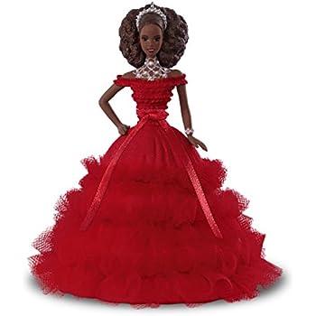 Hallmark Keepsake Christmas Ornament 2018 Year Dated, African American Holiday Barbie Doll Ornament