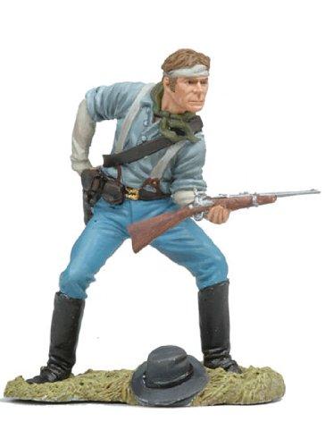 US Cavalryman Loading Carbine