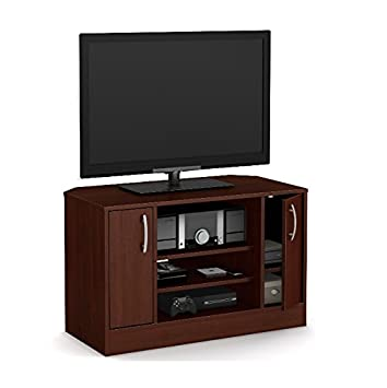 Amazon Com Corner Tv Stands For Flat Screens Entertainment Media
