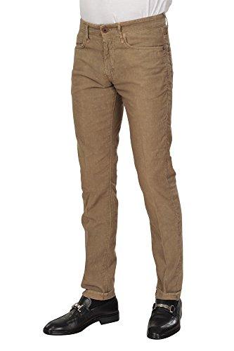Incotex Pantalon Homme 32 Gris / Courtoy coupe étroite Coupe droite R