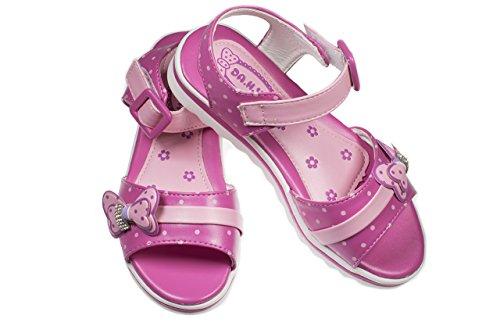 ce9df7f5999a9  アリス  キッズサンダル 女の子 可愛い マジックテープ 子供靴 柔らかい ガールズ リボン 幼児 夏