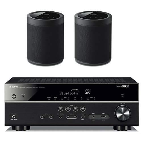 Yamaha RX V485BL Receiver WX 021BL MusicCast