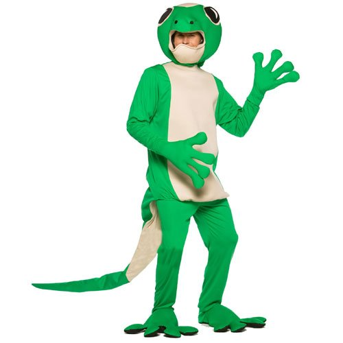 Rasta Imposta Gecko, Green, One Size -