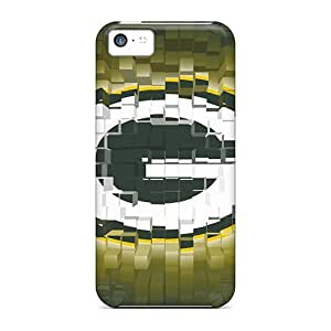 Defender Case With Nice Appearance (green Bay Packers) For Iphone 5c