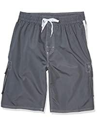 Asbury Threadz Mens Mako Core Performance Elastic Waist Swim Trunk Swim Trunks
