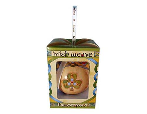 Irish Weave Christmas Bauble ()