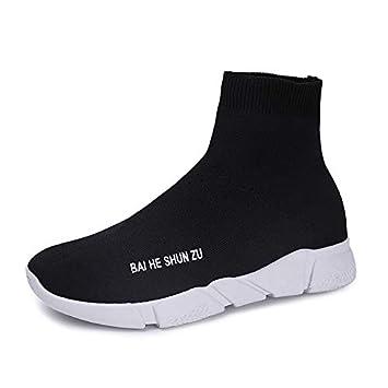 Liuxc Zapatos de mujer Zapatos de Mujer de Primavera. Zapatos de Mujer de Primavera. Calcetines elásticos. Calzado Plano Deportivo.