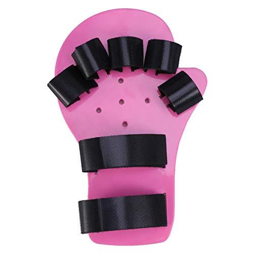 不確実お互い連鎖Healifty 指矯正指板ストロークハンドスプリントトレーニングサポート手首トレーニング装具子供用子供子供1-5歳(ロングスタイル、ピンク)