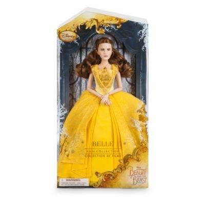 Belle From Beauty And The Beast Dress (Belle Disney Film Collection Doll Beauty and the Beast Live Action Film - 11 1/2)