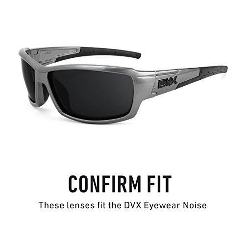para Mirrorshield DVX Plasma Opciones Púrpura Polarizados Noise de Lentes Revant repuesto Eyewear múltiples — twx7pIqaC