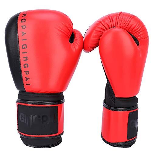 GINGPAI Boxing Gloves for Men Women, Training Gloves for Punching Bag, Kickboxing, Muay Thai, MMA, UFC,Sparring Gloves