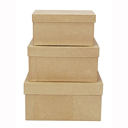 Darice 2849-06 garden, 3 Box Set, Color Cream]()
