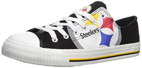 Pittsburgh Steelers Shoe - NFL Mens Low Top Big