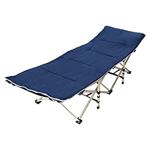 Basde Foldable Single Folding Bed, Lightweight Portable Office Home Nap Bed Outdoor Camping Bed Invisible Folding Bed for Heavy People