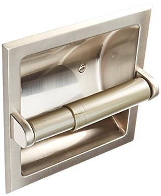 MINTCRAFT 776H-07-SOU Paper Holder Recess, Brushed Nickel
