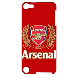 Fantastic Design Arsenal Football Club Phone Case 3D Plastic Phone Case for Ipod Touch 5th Generation Arsenal FC Logo