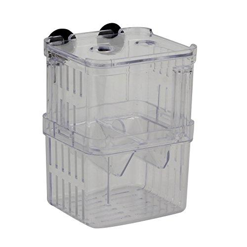 Refaxi Clear Aquarium Fish Breeding Divider Tank Box Isolation Hanging Breeder Incubator