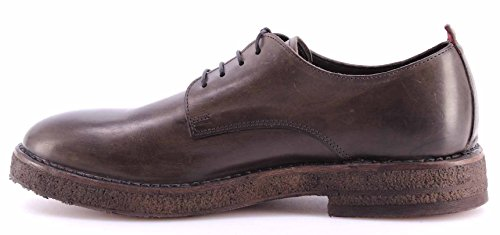 Chaussure Classiques Homme MOMA 54504-TF Hannover Grigio Cuir Gris Vintage Italy