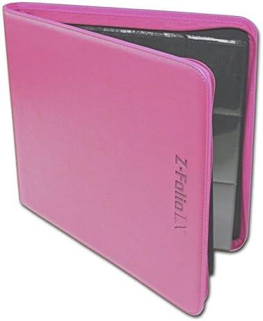 Pink BCW/12 Pocket Z-Folio LX Game