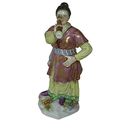 Meissen Porcelain Chinese Lady with Telescope