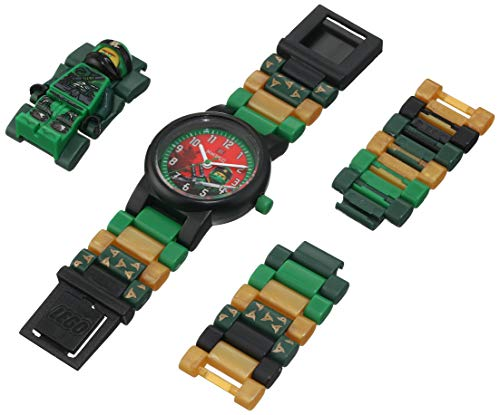 LEGO Watches and Clocks Boy's Quartz Plastic Watch, Color:red (Model: 8021421) -