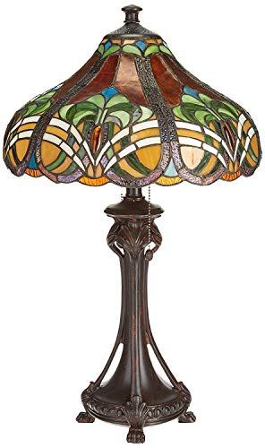 Dale Tiffany TT101033 Bellas Table Lamp, 16' x 16' x 25.5', Bronze