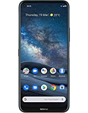 Nokia 8.3 5G Android Unlocked Smartphone with 8/128 GB Memory, Quad Camera, Dual SIM, and 6.81-Inch Screen, Polar Night (AT&T/T-Mobile/Cricket/Tracfone/Simple Mobile/Mint/Ultra Mobile) photo