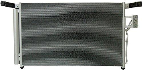 AC A/C Condenser For Hyundai Fits Santa FE 2.7 3.3 V6 3576