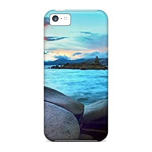 New Style AlexandraWiebe Hard Cases Covers For Iphone 5c- Hidden Beach Lake Tahoe Nevada