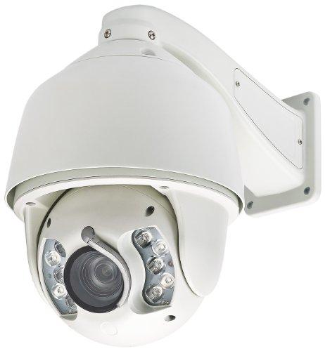 Hd Sdi Ptz Camera (Cop Security 15-CDH55WI-20W HD SDI IR Outdoor Speed Dome 20 x Optical Zoom Lens (White))