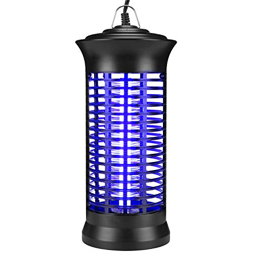WAPIKE Electric Bug Zapper - Indoor Hook Hanging or Standing, Non-Toxic, No Radiation for Indoor Home Bedroom Kitchen Garden Office