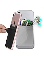 Phone Card Holder,COCASES Stretchy Lycra 3M Adhesive Slim Card Holder for Credit Card & ID Stick on Smartphones,iPhones,Samsung Galaxy