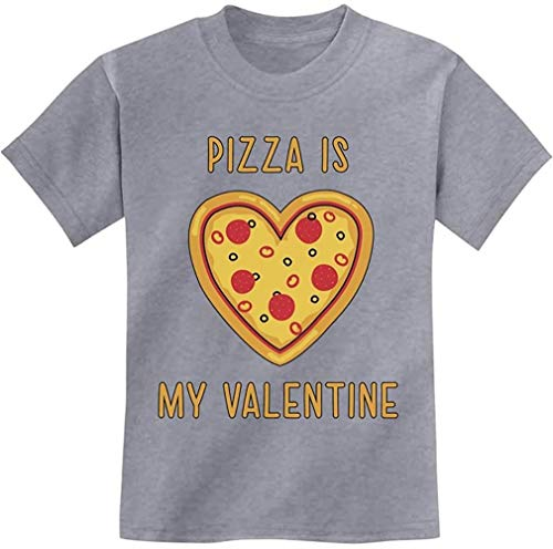 Quafoo Pizza is My Valentine for Pizza Lovers Youth Camiseta de niño