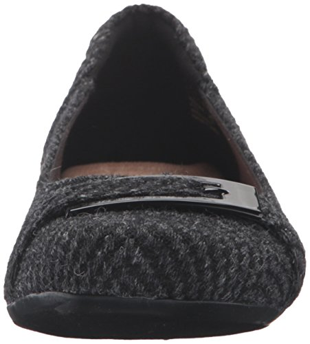 Flats Synthetic Ballet West Black Blanche Clarks Women's Aq14TT