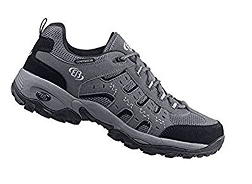 Brütting - Zapatillas de senderismo para niño gris gris