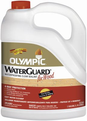 Amazon Com Olympic Waterguard Waterproofing Wood Sealant Voc