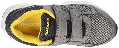 Gris Diadora Running Shape V Jr Niños De Fumo Zapatillas Para 8 nero Ghiaccio grigio FU6wrzF