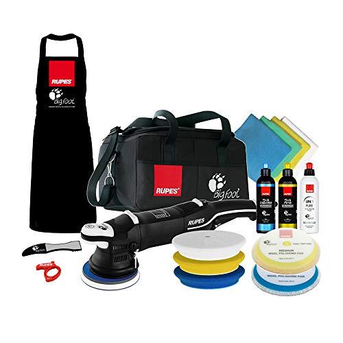 The Clean Garage Rupes LHR15 Mark III Polisher Complete Kit | Bigfoot DA Buffer Bag Combo