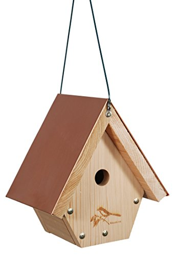 WoodLink Wren House Cedar Bird House with Copper (Woodlink Wren House)