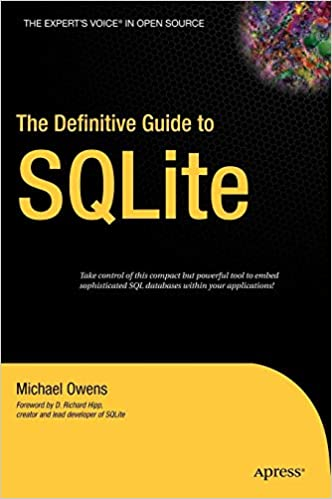 The Definitive Guide to SQLite: Mike Owens: 9781590596739