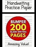 Handwriting Practice Paper for Kids: Bumper